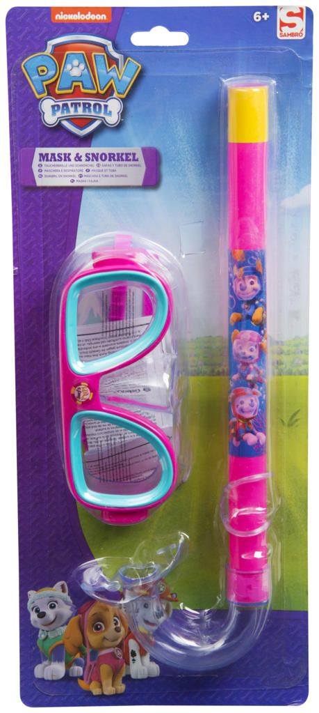 Official Paw Patrol Mask and Snorkel (Girls)